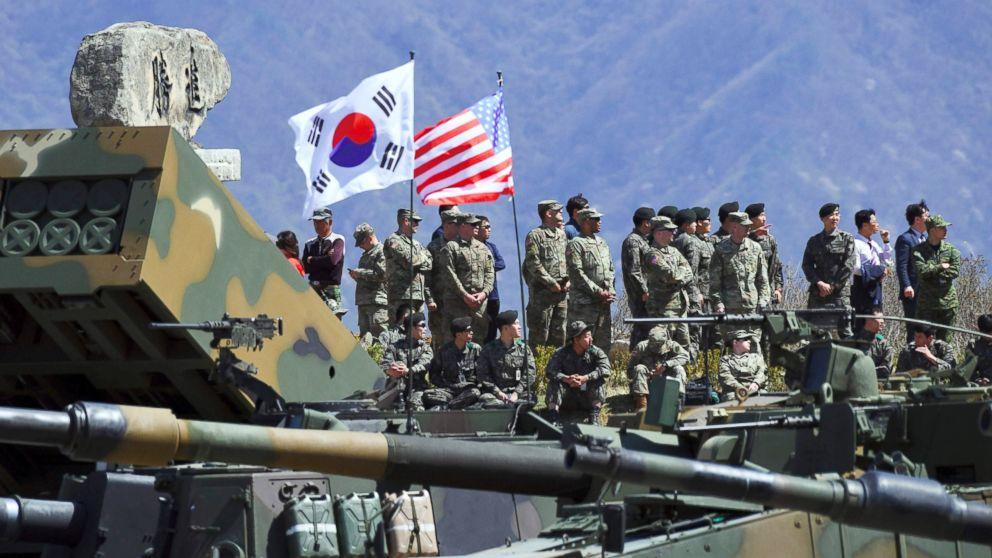 दक्षिण कोरियाद्वारा अमेरिकी सेनाको तलब वृद्धिको घोषणा