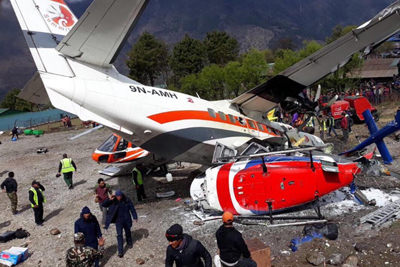 लुक्ला विमान दुर्घटना : नेपाल प्रहरीद्वारा दुःख व्यक्त