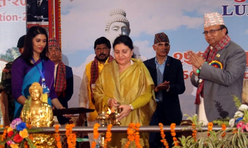 लुम्बिनी भ्रमण वर्षको शुभारम्भ