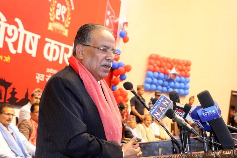 केपी ओली, माधव नेपाल र झलनाथ खनाललाई मैले प्रधानमन्त्री बनाएँ: प्रचण्ड