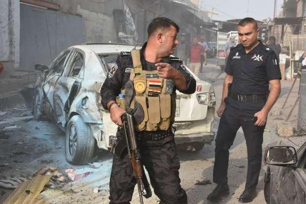 इराकमा बम आक्रमण, ४ प्रहरीको मृत्यु