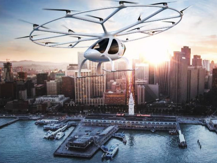 संसारकै पहिलो इलेक्ट्रिकल ट्याक्सी वोलोकोप्टरको सफल परीक्षण, आगामी वर्षदेखि उडान भर्ने