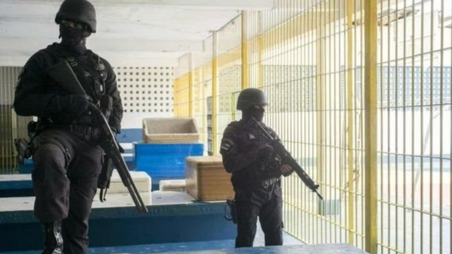 ब्राजिलको जेलमा ग्याङफाइट, ५२ कैदीको मृत्यु