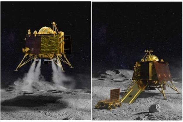 चन्द्र सतहमा ल्यान्डिङका क्रममा चन्द्रयान-२ को सम्पर्क टुट्यो