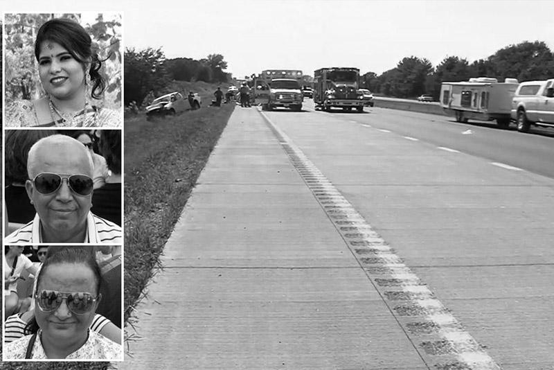 अमेरिका सवारी दुर्घटनामा ३ नेपालीको मृत्यु, २ घाइते
