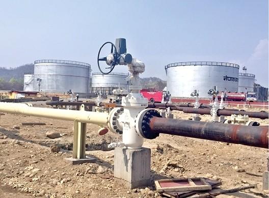पेट्रोलियम पाइपलाइन उद्घाटन आज, प्रतिघण्टा २ सय किलोलिटर इन्धन आउने