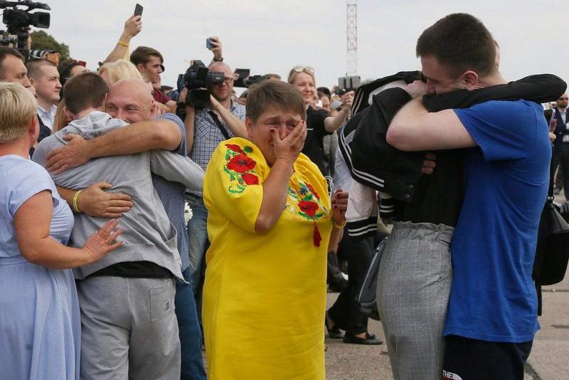 रूस र युक्रेनबीच ७० कैदीबन्दी आदानप्रदान, अमेरिका, जर्मनी र फ्रान्सद्वारा प्रशंसा