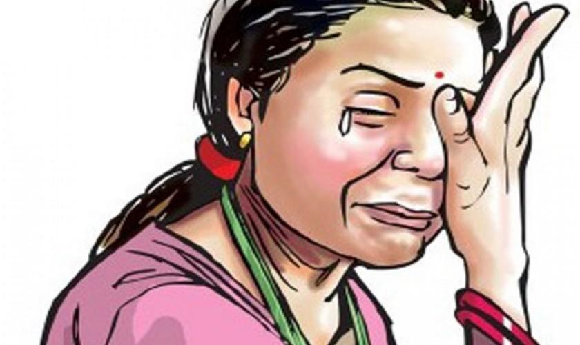 बोक्सी आरोप लगाउने माता सावित्रीविरुद्ध उजुरी