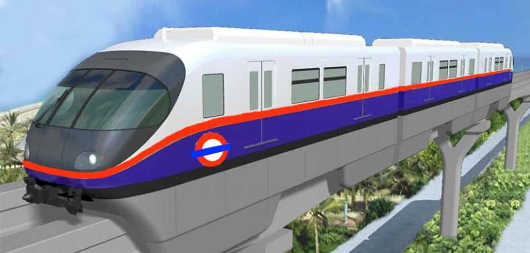 काठमाडौंमा 'स्काई रेल' चलाउन चीनको प्रस्ताव, दुई वर्षमा निर्माण सम्पन्न