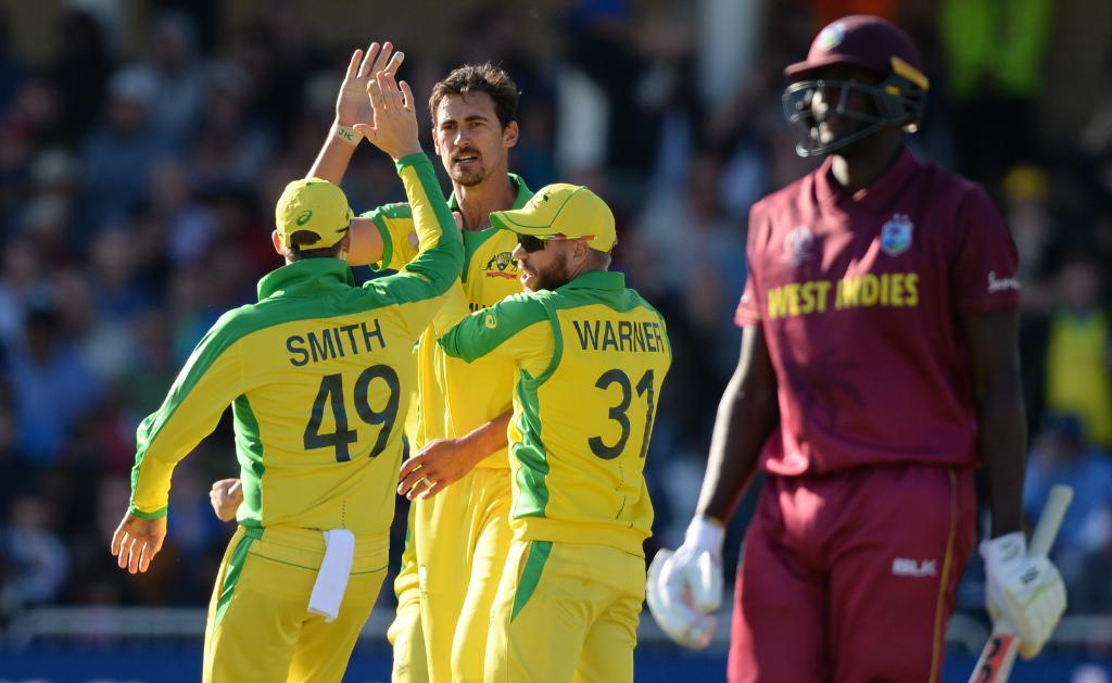 विश्वकप क्रिकेटः वेस्ट इन्डिजविरुद्ध अष्ट्रेलियाको रोमाञ्चक जीत