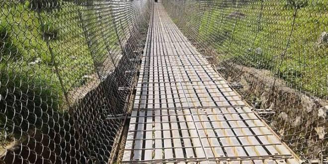 नेपाल–भारत जोड्ने झोलुङ्गे पुल ४ दिन बन्द