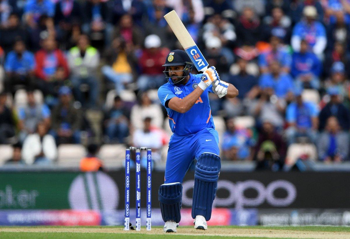 विश्वकप क्रिकेटः रोहितकको शतकमा भारतकाे विजयी सुरुवात