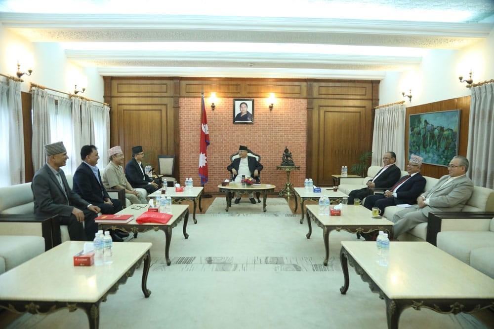 प्रधानमन्त्रीको शीघ्र स्वास्थ्यलाभको कामना गर्दै सकियो नेकपा सचिवालय बैठक