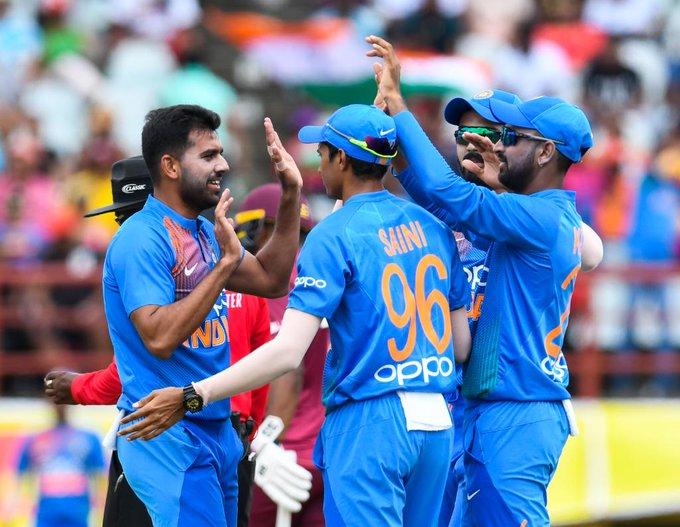 वेस्ट इन्डिज विरुद्धको सिरिज भारतद्वारा 'क्लिन स्विप'