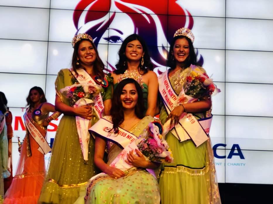 'मिस नेपाल नर्थ अमेरिका'को उपाधि श्रेया गजुरेलले जितिन्