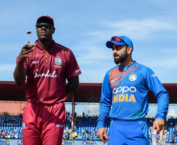 एक खेल अघिनै वेस्ट इन्डिज विरुद्धको सिरिज भारतले जित्यो