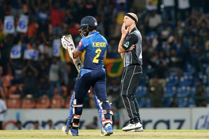 टि–२० सिरिजः श्रीलंकाविरुद्ध न्यूजिल्याण्ड ५ विकेटले विजयी