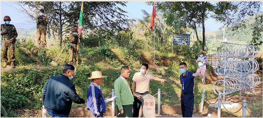 चिनियाँले सान राज्यमा तारबार लगाएपछि म्यानमारसँगको सीमा विवाद चर्कियो