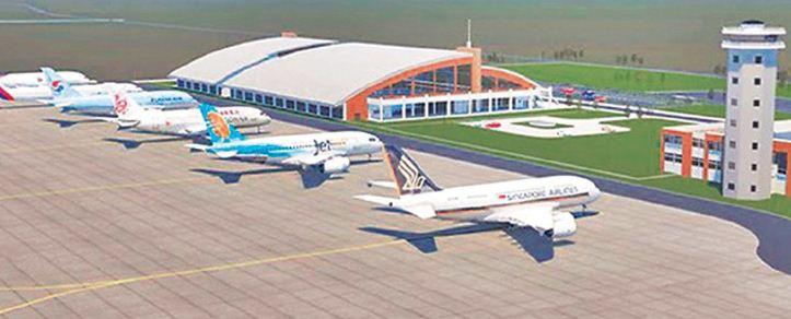 गौतमबुद्ध विमानस्थल निर्माणमा चिनियाँ कम्पनीको ढिलासुस्ती, बुद्धिस्ट केन्द्रमा सञ्चालन भयो कुशीनगर विमानस्थल