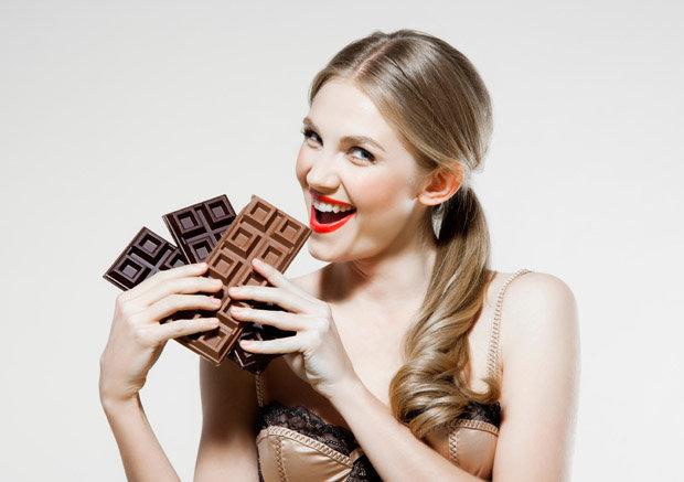 चकलेट खानाले बढ्छ गोरोपन