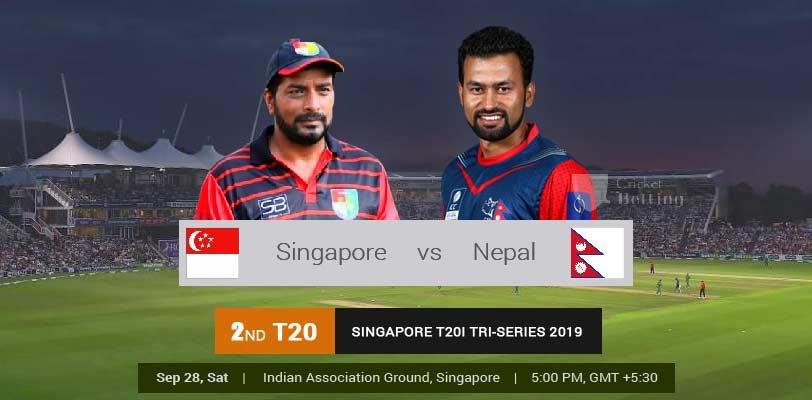 त्रिकोणात्मक टी-२० सिरिज : आज नेपाल र सिंगापुर भिड्दै