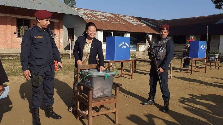मुस्कान र मतदान