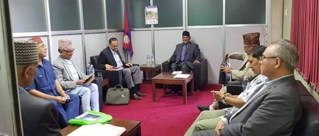 प्रचण्डको अध्यक्षतामा नेकपाको सचिवालय बैठक थालियो