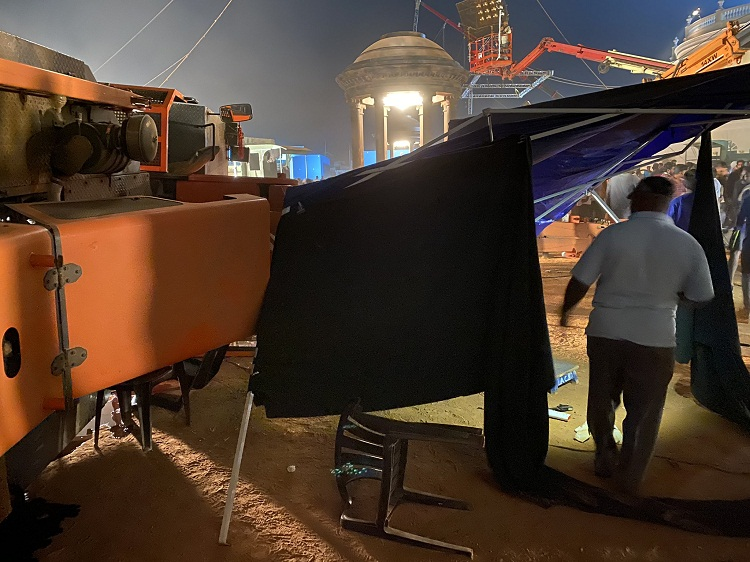 चलचित्र 'सुटिङ सेट'मा भयानक दुर्घटना, सहायक निर्देशकसहित ३ जनाको मृत्यु